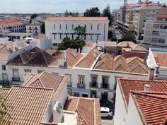 Roofs of four waters (Telhados de Quatro Águas) in Tavira – Tejados de tijera o de cuatro aguas en Tavira