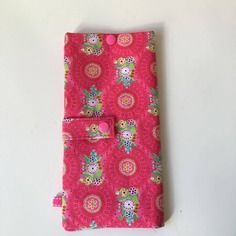 Pochette de voyage / porte passeports  lulu rose /2p - commande clara