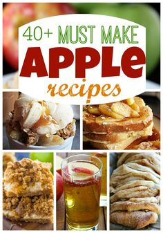 40+ Must Make Apple Recipes at http://therecipecritic.com
