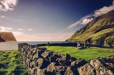 Viðareiði Graveyard - Faroe Islands by PAkDocK