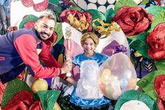 Grupo Mascarada Carnaval: Adriana Medina, Reina Infantil del Carnaval de Los...