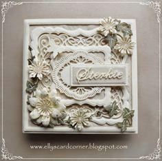 Elly's Card- Corner: Strength.New York Union Square, Scandinavian Copenhagen, Trailing Ivy, Dandelion Clocks