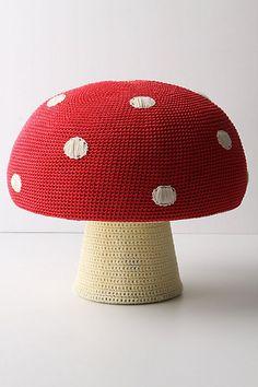 DIY Anthropologie Mushroom Stool - Perfect for a kids room!