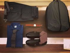 Christmas Shopping!  Our gift ideas of today: #Timex watch limited, Denim Shirt #Aspesi, tie #Roda, trousers #PT01, #Trickers shoes with #Gallo socks and backpack #Rains.  Discover in our boutique INZERILLO in Palermo or click on www.inzerillo.it