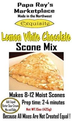 Papa Ray's Marketplace (Lemon White Chocolate Scone Mix)