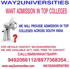 MBBS/BVSC/AGBSC/BDS/BTECH/PARMA-D ADMISSIONS IN INDIA