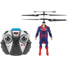 World Tech Toys 2-channel Dc Comics Ir Helicopter (superman)