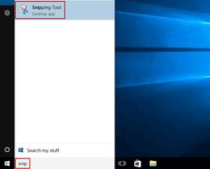 how to open snipping tool in windows xp