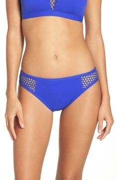 Free shipping and returns on La Blanca All Meshed Up Bikini Bottoms at Nordstrom.com. Sheer mesh has a sultry peekaboo effect on these hip-hugging swim briefs.