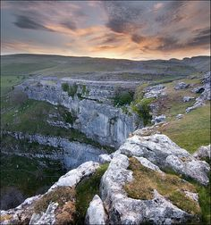 Limestone crags, Yorkshire Dales