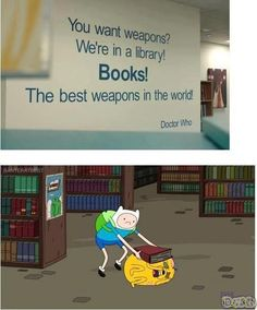 Adventure time/ Doctor Who This is fantastic! on the Adventure Time board or the Doctor Who board? Marvel Dc, Adventure Time, Dc Comics, Finn The Human, Jake The Dogs, Doctor Who Quotes, Bubbline, Lol, To Infinity And Beyond