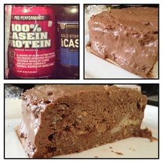 Gnctreatyourself Chocolate Banana Protein Cake GNC