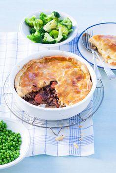 Recept voor pastei met rund en Guinness