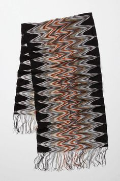 Disconnected Zigzags Scarf  style # 22786271  5 / 5  3 reviews  Write a review  $155.00  Shown In: black