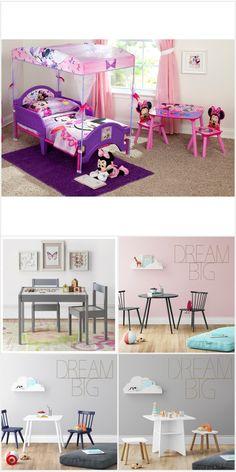 Kids Bedroom Designs, Room Ideas Bedroom, Bedroom Themes, Girls Bedroom, Diy Bedroom Decor, Bedrooms, Toddler Rooms, Big Girl Rooms, Barbie