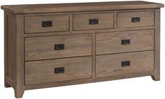 Cadiz Range American Ash smoke colour wide boy chest of drawers..buy at TRADE PRICE..