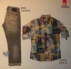 #GününKombini  sezonun en moda rengi GRİ, sezonun en tarz ÇİZGİLERiyle buluşuyor..  #MaviKASABAda @catchjeans #outfit #todaysoutfit