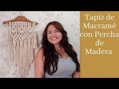 Macrame Bag, Macrame Knots, Micro Macrame, Macrame Projects, Macrame Tutorial, Macrame Patterns, Boho Diy, Long Hair Styles, Youtube