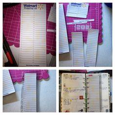 An Irish Girl's Life: To do insert for my Franklin Covey Pocket Page Marker Journal Notebook, Notebook Ideas, Journals, Walmart Shopping List, Franklin Covey Planner, Irish Girls, Page Marker, Day Planners, Organization