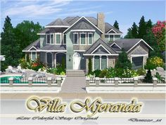 Villa Mjoranda by denizzo_ist - Free Sims 3 Lots Downloads The Sims Resource - TSR Custom Content Caboodle - Best Sims3 Updates and Finds