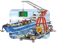 Amazon.com: Lego City - Port: Toys & Games