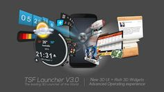 Best Games Apps For Android Mobile: Android App TSF Launcher 3D Shell FULL v3.4.2 Apk