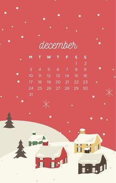 Free December 2018 iPhone Wallpaper - My Pin Calendar Wallpaper, Winter Wallpaper, Wallpaper For Your Phone, Christmas Wallpaper, Cool Wallpaper, Wallpaper Backgrounds, Iphone Wallpaper, Christmas Mood, Christmas Quotes