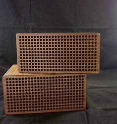 Retro Wooden Speakers Mid Century Modern Wooden by MyCupOfRetro