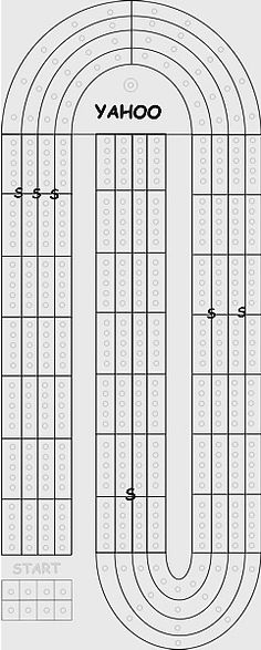 Large print Yahtzee Scoresheet Big Print No Dice - The - sample yahtzee score sheet