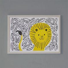 Lisa Jones Studio — Jungle Lion print: