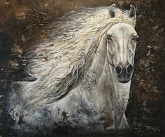 Serenity Print By Paula Collewijn -  The Art Of Horses