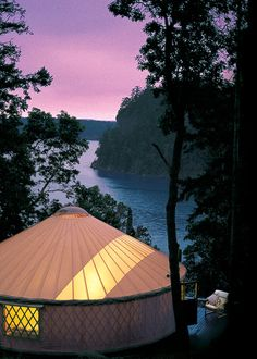 Pacific Yurts in Oregon. Starting at $5200