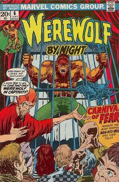 Werewolf By Night #6, June 1973, cover by Mike Ploog