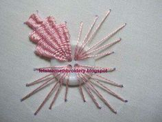 Let& learn embroidery: Indian Embroidery Button Kamal Kadai. Let& learn embroidery: Indian Embroidery Button Kamal Kadai. Indian Embroidery, Brazilian Embroidery, Learn Embroidery, Hand Embroidery Stitches, Silk Ribbon Embroidery, Embroidery Techniques, Embroidery Applique, Cross Stitch Embroidery, Embroidery Patterns