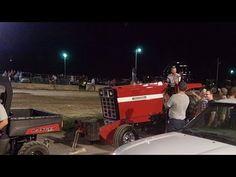 5 John Deere Tractors 3 IH's and 2 Olivers Pulling
