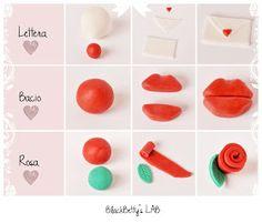 BlackBetty'sLab: Tutorial San Valentino - Cupcakes topper