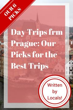 Our picks for the best day trips from Prague. Explore the countryside, medieval villages, majestic castles, and more on these amazing day trips from Prague! Travel Articles, Travel Advice, Travel Guides, Travel Tips, Travel Destinations, Prague Travel Guide, Travel Europe, Day Trips From Prague, Reisen In Europa