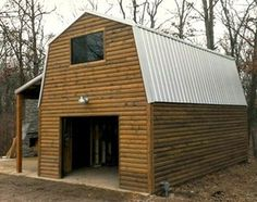 1000 images about tuff shed garages on pinterest garage for Shed roof cabin with loft