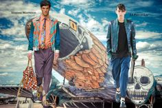"""Fashion Times: Trend AW'13 & SS'14. """"Bomber""""-man"""