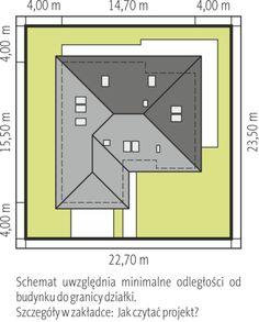 Astrid III G2 - projekt domu - Archipelag House Layout Plans, Tiny House Plans, House Layouts, One Storey House, Indian House Plans, Zen House, Modern Bungalow House, Architectural House Plans, Brick Architecture