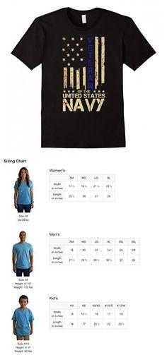 Mens Patriotic U.S. Navy Veteran Blue Line American Flag T-Shirt XL Black