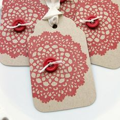 Christmas tags etsy.com Christmas Gift Tags, Christmas Crafts, Xmas, Diy Gifts, Handmade Gifts, Paper Tags, Card Tags, Homemade Cards, Cardmaking