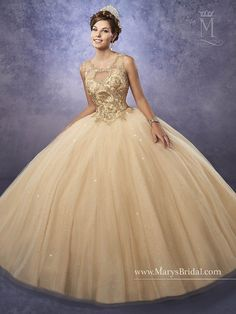 Mary S Bridal Princess Collection Quinceanera Dress Style 4q496