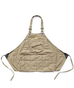 NATAL DESIGN(ネイタルデザイン)の「【ネイタルデザイン】ホルターエプロンキルテッド ヘリンボ-ン / HOLTER APRON QUILTED HERRINGBONE(その他トップス)」|詳細画像