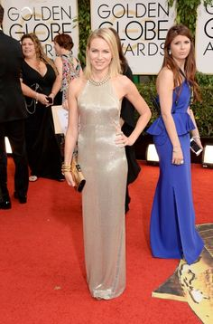 Naomi Watts shimmers in a Tom Ford gown at the 71st Golden Globes, 2014