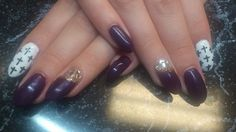 purple... Nail Art, Purple, Nails, Painting, Beauty, Beleza, Ongles, Finger Nails, Paintings