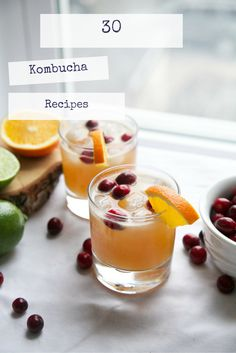30 Kombucha Recipes