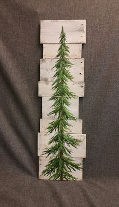 Pine tree Christmas tree white washed by TheWhiteBirchStudio                                                                                                                                                                                 More