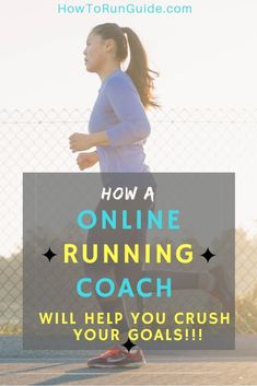 Get your own online running coach to help you crush your goals and run like a pro! Beginner Runner Tips, Beginners Guide To Running, Running Guide, Beginner Running, Trail Running, Running Quotes, Running Motivation, Track Quotes, Workout Quotes