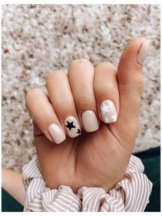 Cute Nail Art Designs, Star Nail Designs, Light Pink Nail Designs, Simple Acrylic Nails, Best Acrylic Nails, Pastel Nails, Clear Acrylic, Light Pink Acrylic Nails, Cute Pink Nails